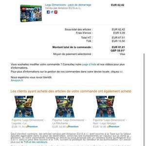 Lego dimensions set £59 on Amazon France X box one