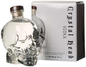 Crystal Head Vodka 70cl £34.90 at Amazon