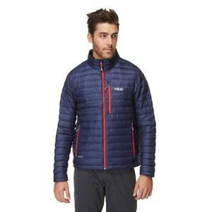Rab Men's Microlight Down Jacket £80 delivered at ultimate outdoor (part of JD sports / blacks group) Black Friday deal + quidco cashback (RRP £160 and never half price)