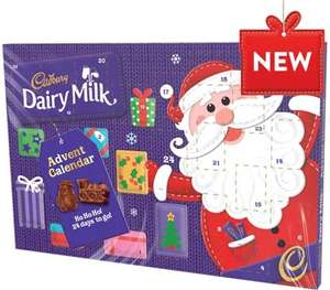 Large Dairy Milk Advent Calendar £1.50 instore @ Asda