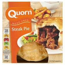 Quorn Steak And Gravy Pudding 380G - Morrisons 97p