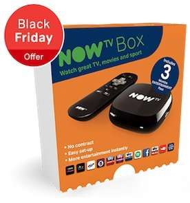 Now TV - 40% off £24.99 bundles (From Black Friday 27th)