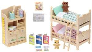 sylvanian families bedroom set and others reduced £8.75 (Prime) £12.74 (non prime) @ Amazon