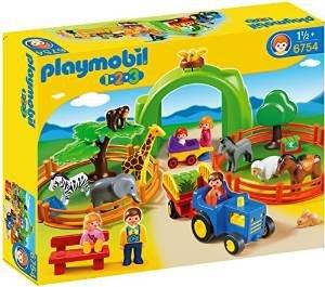 Playmobil 6754 1.2.3 Large Zoo £14.59 (Prime) £19.34 (Non Prime) @ Amazon