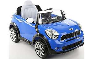 TODAY ONLY 99.99 - Mini Cooper 6V Electric Ride On Car @ Halfords