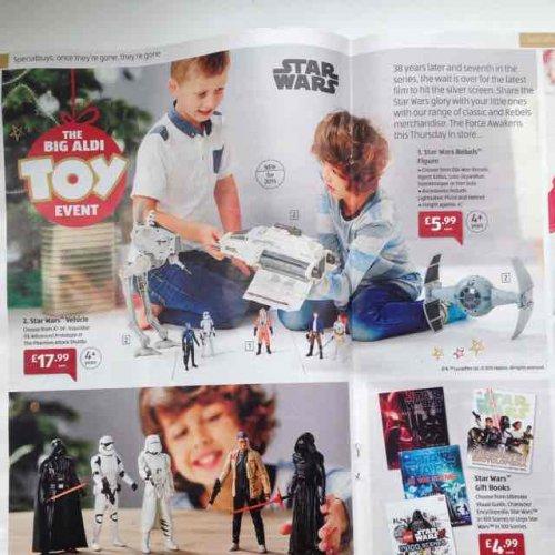 Aldi Star Wars Sale - Thursday 26th Nov from £4.99