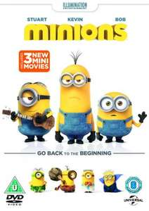 Pre-Owned Minions Movie DVD £5 (Bluray £6.50) at XVMarketPlace (50p delivery) - Preorder