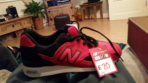 new balance (encap)  trainers £20 @ New balance NEC Birmingham