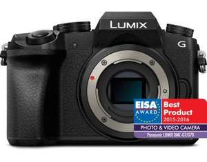 Lumix DMC-G7 body only (£249 price after DOUBLE Cashback) £449 @ Amazon