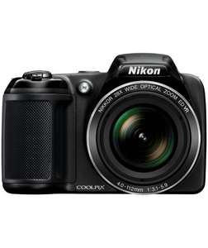 Nikon Coolpix L340 20MP 28x Zoom Bridge Camera - Black. £89.99 @ Argos