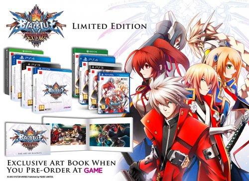 BlazBlue ChronoPhantasma Extend Limited Edition + Artbook PS4/XB1 1p!!! @ Game MisPrice Bingo time!