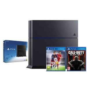 PS4 Black Console + Call of Duty 3 Nuketown + FIFA 16 DELIVERED Only £268.99 @ eBay
