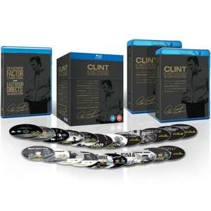 Clint Eastwood - 20 Film Collection Blu-ray (+ 2 bonus discs) £29.99 delivered @ Zavvi [Unforgiven / Dirty Harry  / The Outlaw Josey Wales / Pale Rider /  Million Dollar Baby  /  Invictus  + loads more]