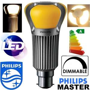 Philips Master 17w LED B22 Bulb (75w replacement) only £12.95 (Prime) £16.94 (Non Prime) Sold by Anything 4 Home and Fulfilled by Amazon