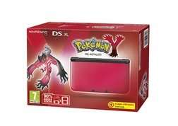 3DS XL Red/Black with Pokemon Y for £99.99 @ Game