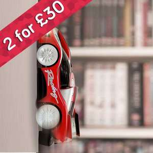 2 for £30 on Wall Climbing RC Cars - Plus Quidco @ Menkind