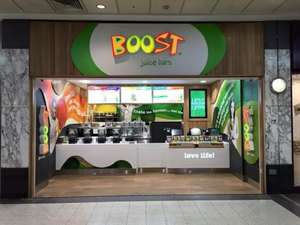 Free Boost Smoothies all day Tue, Wed, Thu Manchester Arndale