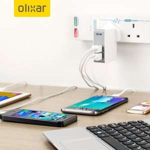 Olixar 4 USB Mains Charger with 4.8A Total Output (Buy One Get One Free) £29.99 @ mobilefun