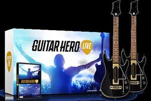 DOUBLE Guitar Pack - Guitar Hero Live - Xbox One / PS4 - £74.99 @ Amazon