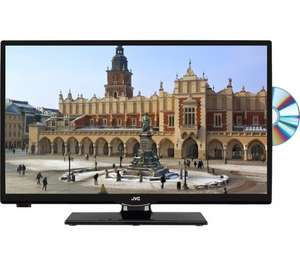 "JVC LT-24C655 Smart 23.6"" LED TV with Built-in DVD Player £149.99 @ Currys"