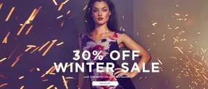 30% Off Winter Sale - Coats, Party Dresses, Shoes, Bags all with 30% off at Little-Mistress