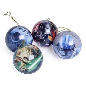 Disney Star wars Bauble / Xmas treee decoration £1 each Wilko online and Instore