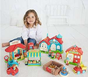 Happyland bumper village set - £40 (£3.95/Free CnC) @ ELC