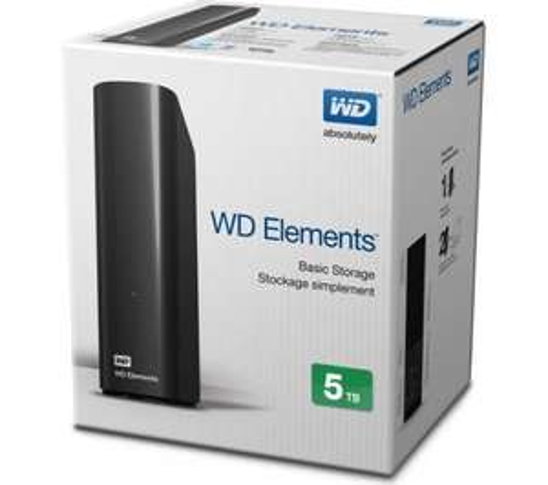 WD Elements Desktop External Hard Drive - 5TB USB 3.0 / USB 2.0 £89.99! @ Currys / PC World