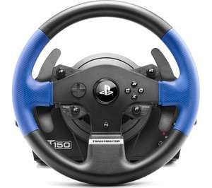 THRUSTMASTER T150 RS Steering Wheel - Black & Blue £109.99 @ Currys