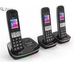 BT 8500 Digital Telephone and Answering Machine with Advanced Call Blocker, Trio £44.99 @ telephonesonline.co.uk