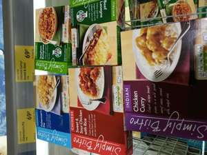 Aldi microwave meals for 69p
