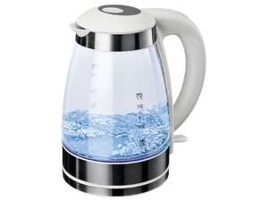 Silvercrest Kitchen LED Glass Kettle £19.99 at LIDL