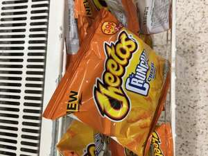 Crunchy Cheetos, now in UK. 39p each or 3 for £1.00 @ Wilko instore
