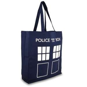 Doctor Who Tardis Tote Bag £4.04 Delivered @ BBC Shop (with code)