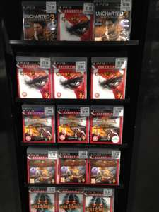 PS3 games Uncharted 3 GotY Edition, God of War 3 & more £2.99 HMV instore