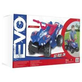 Evo ATV 6V Quad Bike Electric Ride-On, Blue & Red - £25 @ Tesco Direct