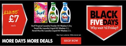 Persil Bio/ Non Bio Liquid 60 washes 2.1l £7 Morrisons