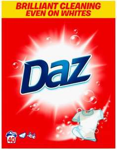 ** Daz Washing Powder / Citrus Splash 2.6Kg 40 Washes for £4 @ Tesco **