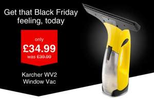 KARCHER WV2 WINDOW VAC - WICKES - £34.99 CLICK & COLLECT