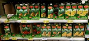 Del Monte juices, half price 70p, normally £1.40. Variety of flavours available @ Tesco