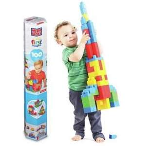 MegaBloks First Builders Tube - 100 Pieces. now £8.99 @ Argos