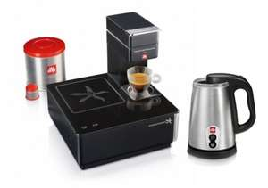 illy (Francis Francis) - All coffee machines 50% off at official site - espressocrazy.com - from £60 (Francis Francis Y1.1) plus free £60 milk frother with selected machines!