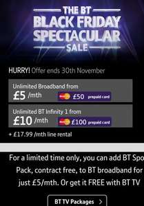 BT Black Friday Deals