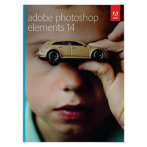 Adobe Photoshop Elements 14 £39.99 @ John Lewis