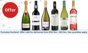 25% off when you buy 6 bottles or more of wine @ Sainsburys Starts 25/11/15
