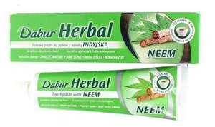Dabur Herbal Neem Toothpaste 100Ml - Fluoride Free £2.49 @ Tesco
