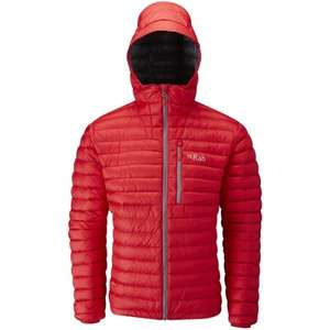 RAB Men's microlight alpine down jacket from Ultimate Outdoors @ £99.00 delivered, down from £180.00