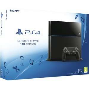 Sony PlayStation 4 1TB Ultimate Player Edition Console £299.99 @ Zavvi