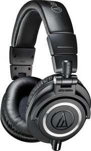 Audio-Technica ATH-M50X Studio Monitor Professional Headphones - £87.66 @ Amazon