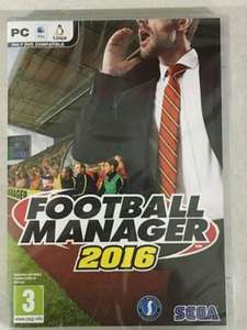 Football Manager 2016 £21.94 @ Wrexham FC